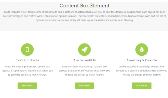 Children's Wish website, Chapters & Events, content box element, Avada theme, Wordpress, Stephen Thomas