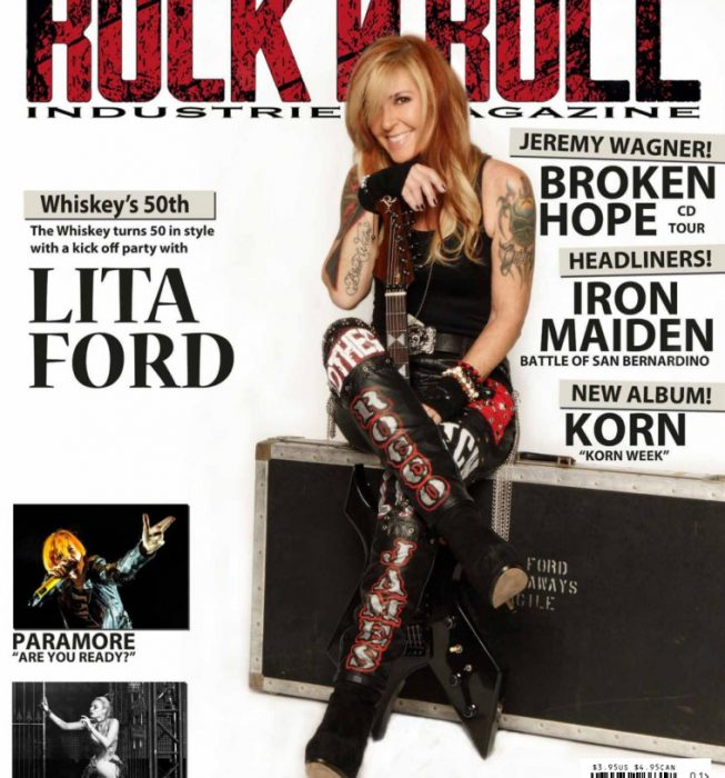 Rock N Roll Industries Magazine, Issue 10, Los Angeles, USA